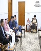 دیدار مقتدی صدر با سفرای کشورهای همسایه عراق در غیاب...