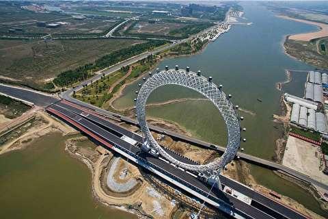 بزرگترین چرخ فلک بدون چرخدنده جهان