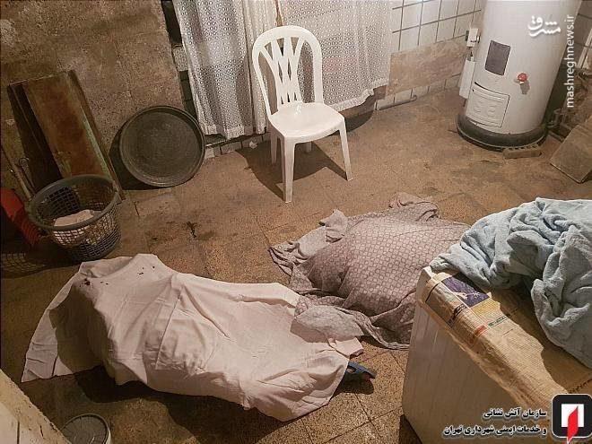 مرگ تلخ پدر و پسر در زیرزمین خانه ای قدیمی