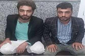 سرقت دو برادر در پوشش دستفروش