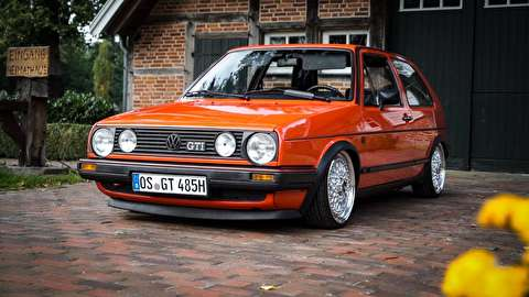 فولکس واگن گلف ام کی 2، جی تی آی مدل 1990