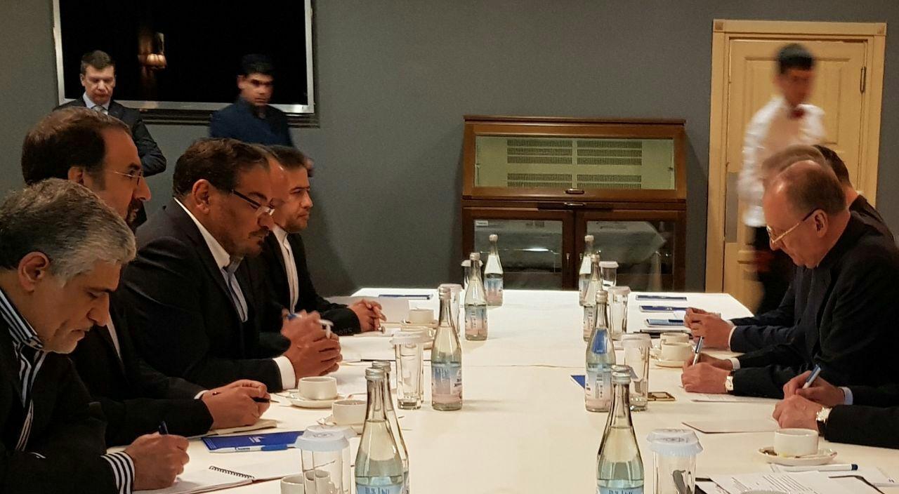 دیدار شمخانی با دبیر شورای امنیت ملی روسیه