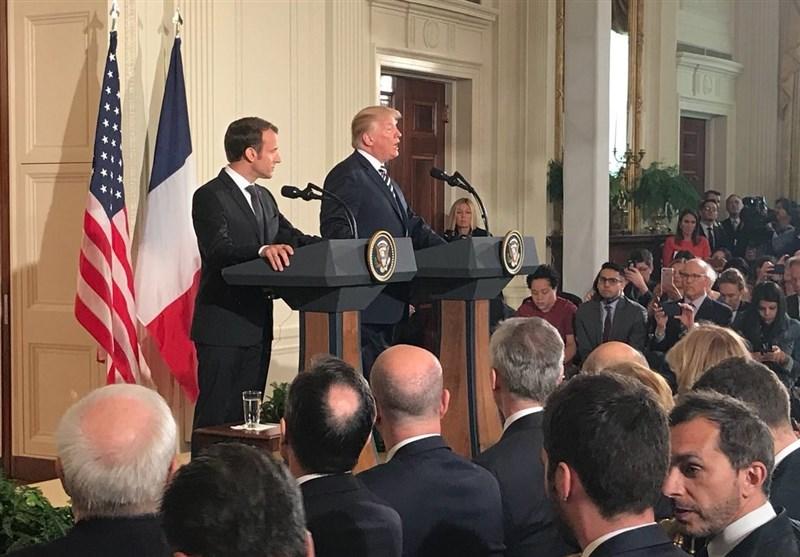 ماکرون: به دنبال توافقی جدید با چهار ستون درباره ایران هستیم/ترامپ: ایران ما را تهدید کند هزینه کمسابقهای خواهد پرداخت/ ظریف: با خروج آمریکا، ایران هم به احتمال قوی از برجام خارجمیشود/ درخواست عربستان از قطر برای پرداخت هزینه های آمریکا در سوریه