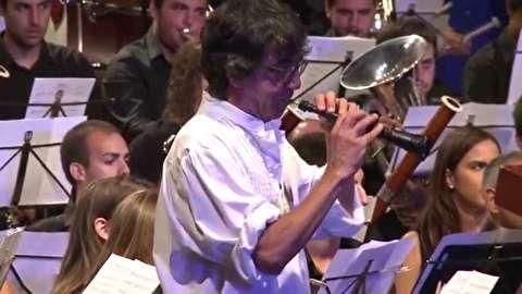 اجرای مشترک مدرسه موسیقی آلخمسی و خاویر ریچارت