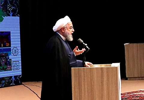 روحانی به ترامپ: پنیری که میخوری ایرانی است!