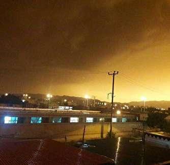 ترکیب عجیب ابر و ریزگرد، روز خوزستانیها را «شب تار» کرد!