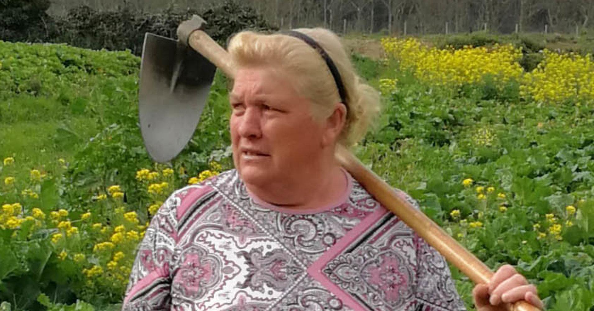 شباهت عجیب یک زن به ترامپ
