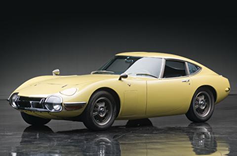 بررسی تویوتا 2000 جی تی مدل 1967