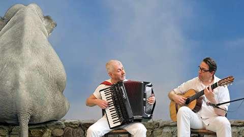 فیلهای شاد ؛ کوس جانسون و جو بروننبرگ