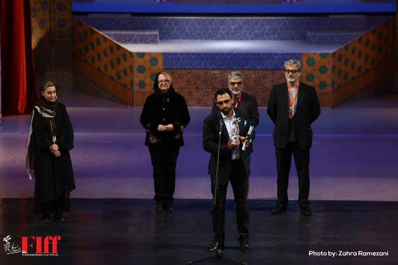 سه یک فیلم سه ملیتی بهترین اثر سی و ششمین جشنواره بین المللی فیلم فجر