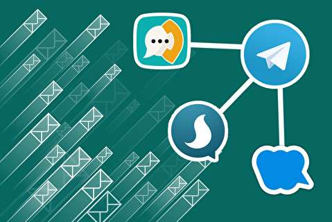 نحوه انتقال محتوای تلگرام به پيامرسانهای داخلی