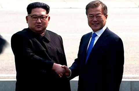 دیدار رهبر کره شمالی و رئیس جمهور کره جنوبی