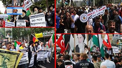 حضور جهان اسلام در راهپیمایی روز قدس