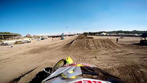 مسابقه سرعت با موتور کراس