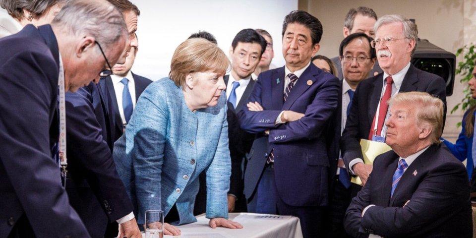 ترامپ علیه همه و همه علیه ترامپ در اجلاس G7