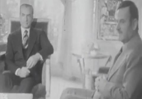 دیدار محمدرضا پهلوی و حافظ اسد