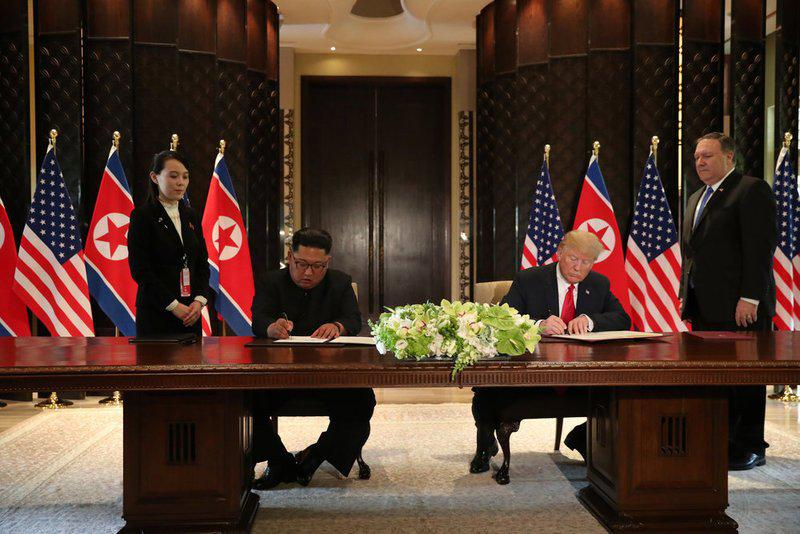 جزئیات کامل دیدار تاریخی دونالد ترامپ و کیم جونگ اون+عکس/ کره شمالی متعهد به خلع سلاح اتمی شد