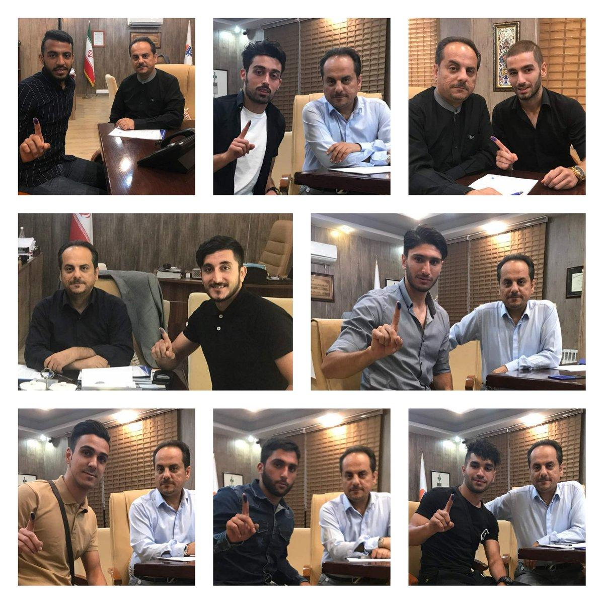 منتخب تیم ملی جوانان و امید به استقلال پیوستند