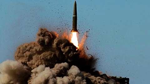 موشک بالستیک اسکندر-ام با سرعت 7 ماخ