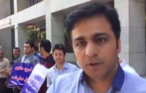 تجمع پیمانکاران طلبکار شهرداری تهران
