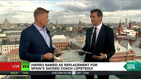 تحلیل پیتر اشمایکل از اخراج سرمربی تیم فوتبال اسپانیا