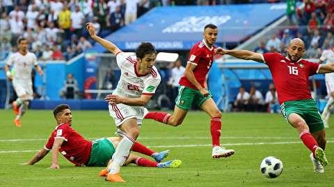 خلاصه بازی ایران - مراکش