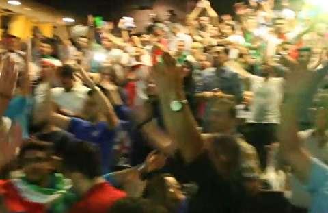 هیجان بازی ایران - مراکش در سالنهای سینما