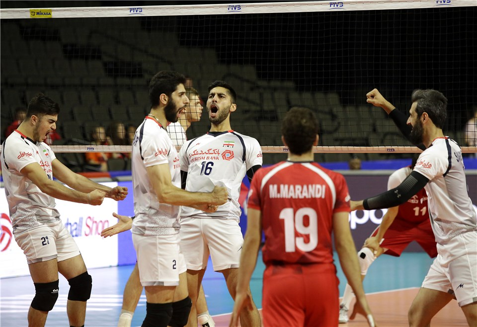 ایران۳- لهستان ۰/ والیبالیست ها با شکست صدرنشین لیگ ملت ها، جشن ملی را کامل کردند