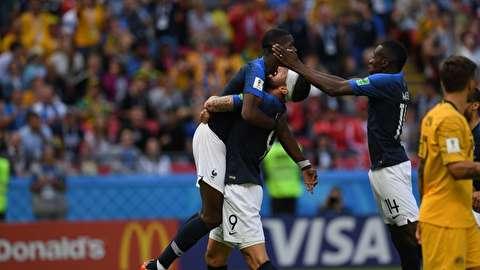 خلاصه بازی فرانسه - استرالیا؛ پیروزی با VAR