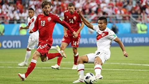 خلاصه بازی پرو - دانمارک