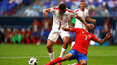 خلاصه بازی کاستاریکا - صربستان