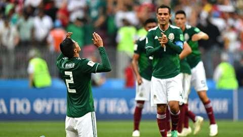 خلاصه بازی آلمان - مکزیک