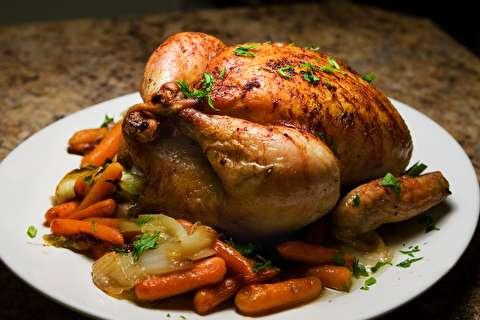 دستور پخت مرغ کامل در آرامپز