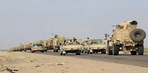 مبارزه رزمنده یمنی با ماشینهای جنگی سعودی