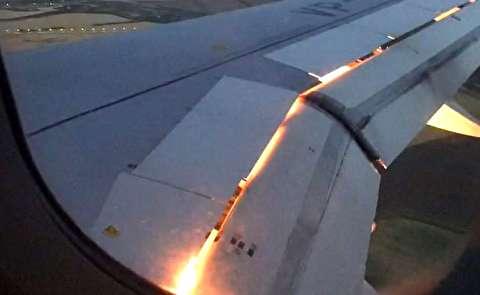 آتش گرفتن هواپیمای حامل تیم فوتبال روسیه