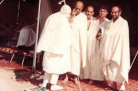 کاروان حج حسینیه ارشاد با شریعتی و مطهری
