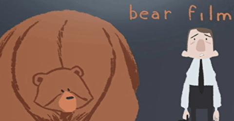 انیمیشن کوتاه خرس