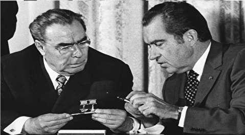 شوخی نیکسون و برژنف در اوج جنگ سرد