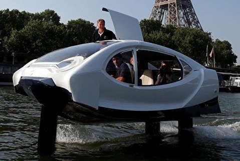 تجربه تاکسیهای آبی در پاریس
