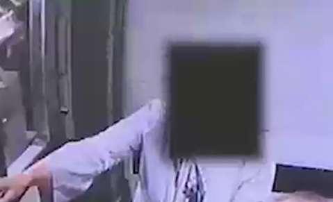 لحظه سرقت یک زن از طلافروشی در تبریز