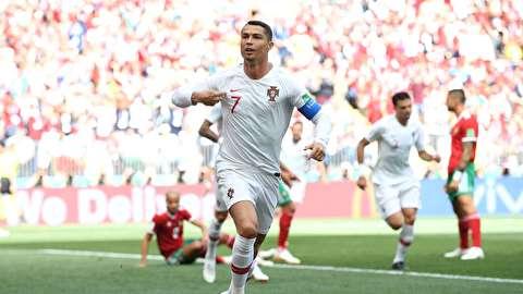 خلاصه بازی پرتغال - مراکش
