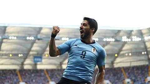 خلاصه بازی اروگوئه - عربستان