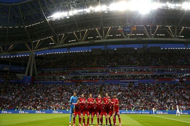 نمرات بازیکنان تیم ملی فوتبال ایران مقابل اسپانیا