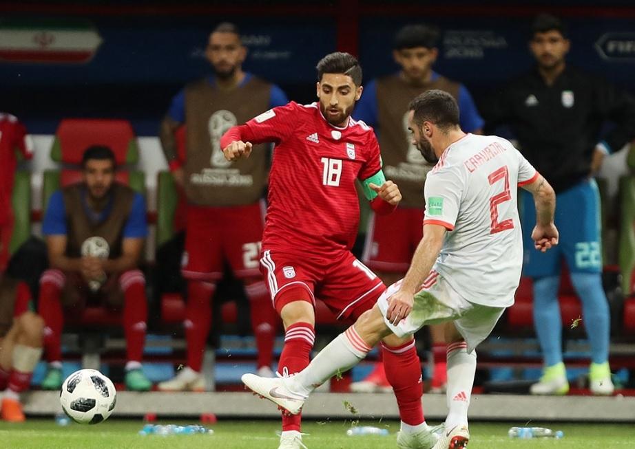 ستایش روزنامه های عربی از بازی ایران مقابل اسپانیا