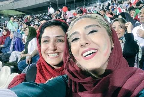 روایت زنان از حضور در ورزشگاه آزادی