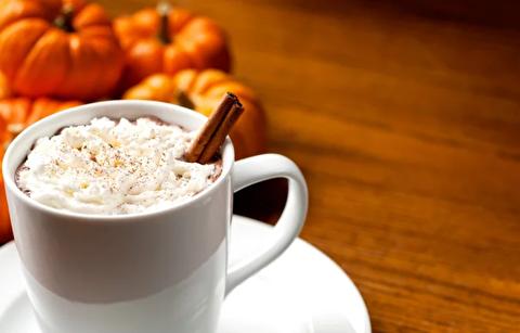 طرز تهیه قهوه لاته کدوحلوایی