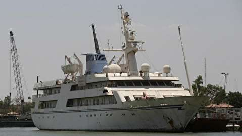 کشتی تفریحی صدام حسین هتل دریانوردان شد