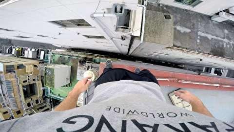 فری رانینگ روی پشت بامهای توکیو