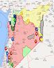 افزایش تنش ها در جنوب غربی سوریه و احتمال درگیری میان ارتش سوریه و آمریکا+ نقشه