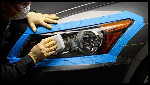 آموزش پولیش و شفاف کردن چراغهای جلو خودرو